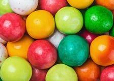 Chewing-gum coloré rond Images libres de droits