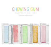 Chewing gum royalty free stock photography