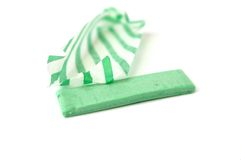 Chewing gum isolated Stock Images