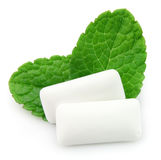 Chewing gum menthol Stock Photo