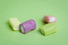 Chewy Fruity Candy Stock Photo