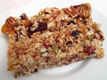 Chewy Granola Bar Royalty Free Stock Photo