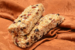 Chewy granola bars Royalty Free Stock Photos