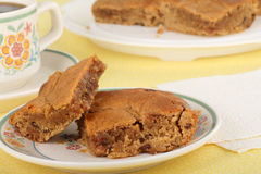 Chewy Peanut Butter Bars Royalty Free Stock Image