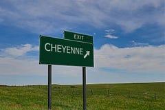 cheyenne Royaltyfri Fotografi