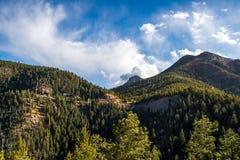 Cheyenne Canyon Colorado Springs del norte fotos de archivo