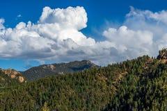 Cheyenne Canyon Colorado Springs del norte imagen de archivo libre de regalías