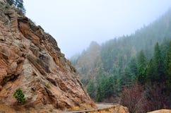 Cheyenne Canyon du nord Photographie stock libre de droits