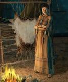 Cheyenne-Dame Lizenzfreies Stockfoto