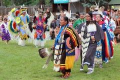 Cheyenne dni Nadgraniczny Powwow Obrazy Royalty Free