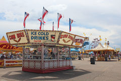 Cheyenne Frontier Days Midway Royalty Free Stock Photos