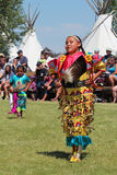 Cheyenne Frontier Days 2013. A Native American dancer during the powwow in Indian Village, Cheyenne Frontier Days, 2013 stock photos