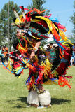 Cheyenne Frontier Days 2013. A Native American dancer during the powwow in Indian Village, Cheyenne Frontier Days, 2013 royalty free stock photo