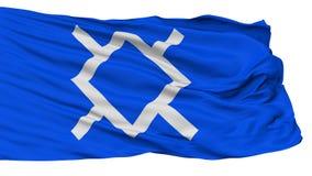 Cheyenne Indian Flag nordico, isolato su bianco illustrazione vettoriale