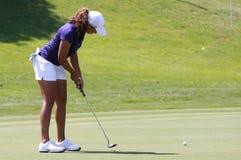 Cheyenne trän på golf Evian styrer 2012 royaltyfri bild
