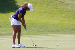 Cheyenne Woods at golf Evian Masters 2012 Royalty Free Stock Image