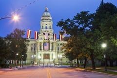 Cheyenne, Wyoming - bâtiment de capitol d'état Photos libres de droits