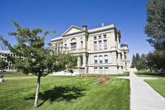 Cheyenne, Wyoming - capitolio del estado fotos de archivo libres de regalías