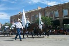 Cheyenne, Wyoming, de V.S. - 26-27 Juli, 2010: Parade in Cheye van de binnenstad Royalty-vrije Stock Afbeelding
