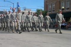 Cheyenne, Wyoming, de V.S. - 26-27 Juli, 2010: Parade in Cheye van de binnenstad Royalty-vrije Stock Fotografie