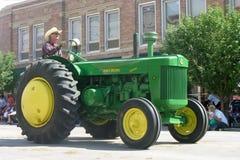 Cheyenne, Wyoming, de V.S. - 26-27 Juli, 2010: Parade in Cheye van de binnenstad Stock Afbeelding