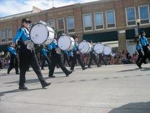 Cheyenne, Wyoming, EUA - 27 de julho de 2010: Desfile em Cheyenne do centro, Wyoming, durante os dias da fronteira anuais Foto de Stock