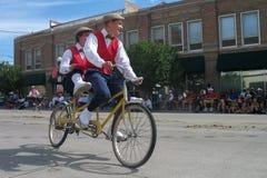 Cheyenne, Wyoming, EUA - os 26-27 de julho de 2010: Parada em Cheye do centro Foto de Stock Royalty Free