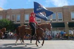 Cheyenne, Wyoming, EUA - os 26-27 de julho de 2010: Parada em Cheye do centro Fotos de Stock Royalty Free
