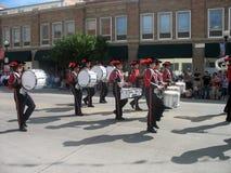 Cheyenne, Wyoming, los E.E.U.U. - 27 de julio de 2010: Desfile en Cheyenne céntrica, Wyoming, durante los días de la frontera anu Imagen de archivo