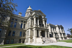 Cheyenne, Wyoming - State Capitol Stock Photography