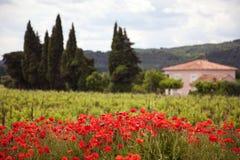 Chez la Provence photo libre de droits