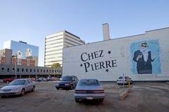 Chez Pierre, Edmonton, Canada immagine stock
