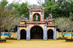 Chez Thien une pagoda, Quang Ngai, Vietnam - 24 mars 2016, Images stock