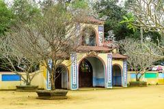 Chez Thien une pagoda, Quang Ngai, Vietnam - 24 mars 2016, Image stock