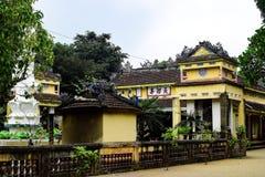 Chez Thien une pagoda, Quang Ngai, Vietnam - 24 mars 2016 Images libres de droits
