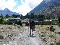 Chhairo village, Nepal Royalty Free Stock Images