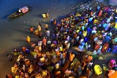 Chhat festival royaltyfri foto