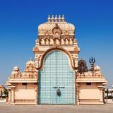 Chhatarpur tempel royaltyfria bilder