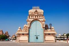 Chhatarpur tempel arkivfoto