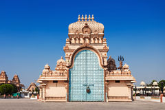 Chhatarpur Temple Stock Photo