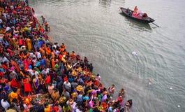 Chhatfestival royalty-vrije stock afbeelding