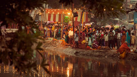 Chhath festival Royalty Free Stock Image