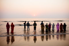 Chhath Puja Festival 2016 stock images