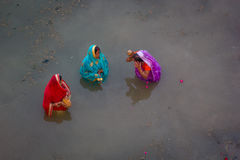 Chhath Puja Ganges India. Stock Photography