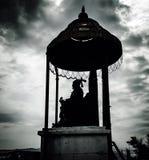 Chhatrapati Shivaji马哈拉杰雕象  库存照片