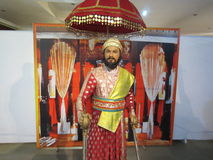 Chhatrapati Shivaji马哈拉杰- Maratha战士 库存图片