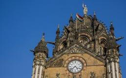 Chhatrapati Shivaji ändstation Royaltyfri Foto