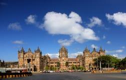 Chhatrapati Shivaji ändstation Royaltyfria Foton