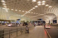 Chhatrapati Shivaji International Airport dans Mumbai, Inde Photographie stock libre de droits