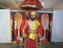 Chhatrapati Shivaji Maharaj - πολεμιστής Maratha Στοκ Εικόνα